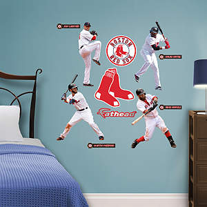 Boston Red Sox Power Pack Fathead Wall Decal